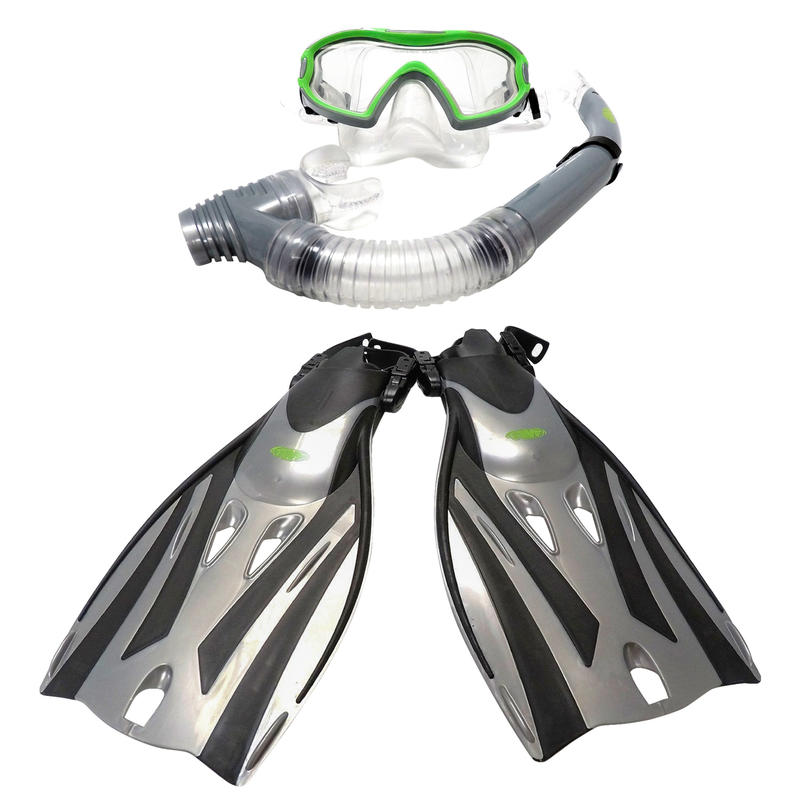 Kids TWF Adjustable Fins & Kids TWF Mask & Snorkel Set
