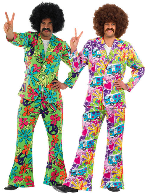 Men's Psychedelic 1960s Suit
