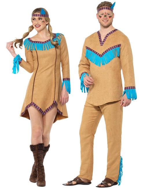 Adults Native American Costume