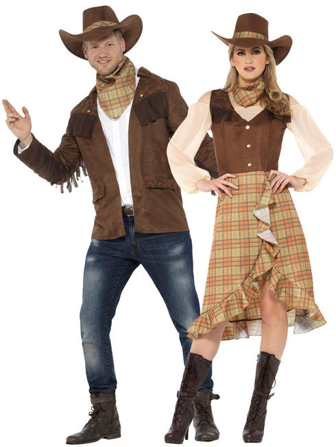 Adults Cowgirl / Sheriff Costume