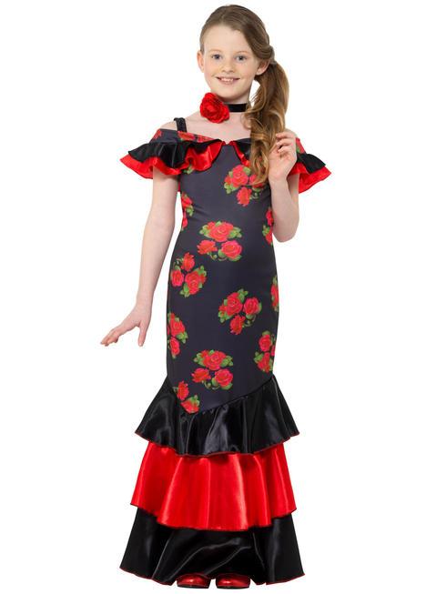 Girls Flamenco Costume