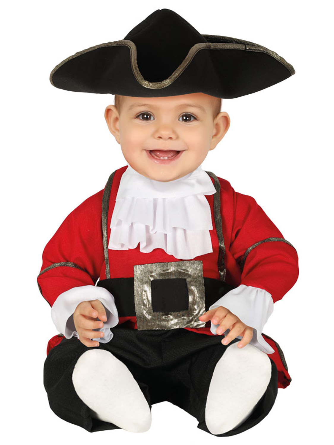 Toddler-Baby-Pirate-Costume-Fancy-Dress-Captain-Crew-Buccaneer-Deckhand-Outfit thumbnail 4