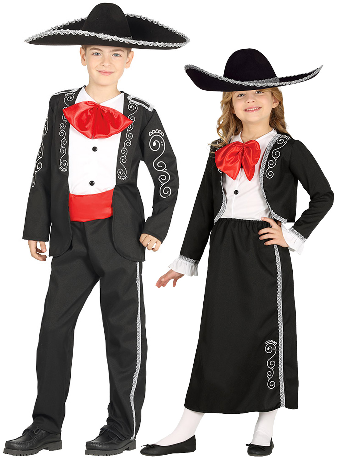 Details about Boys Girls Mexican Mariachi Costume Kids Fancy Dress Spanish  Musician Outfit