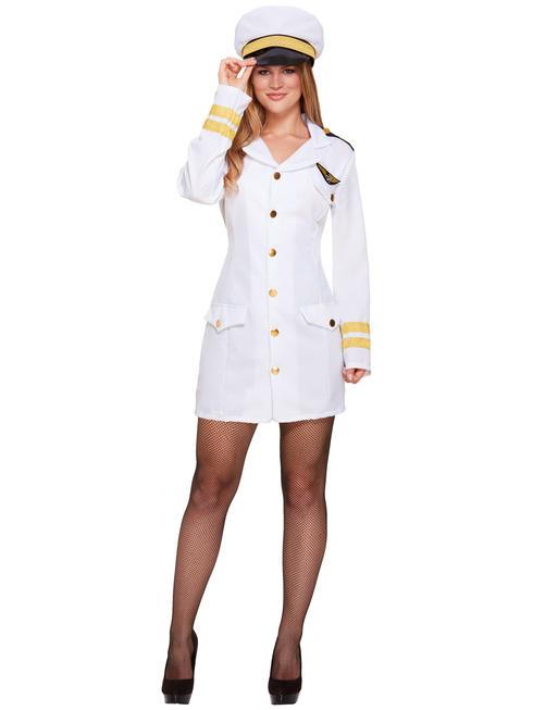 Ladies Navy Girl Costume