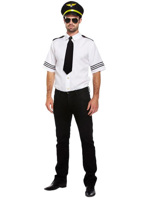 Mens Airline Pilot Costume