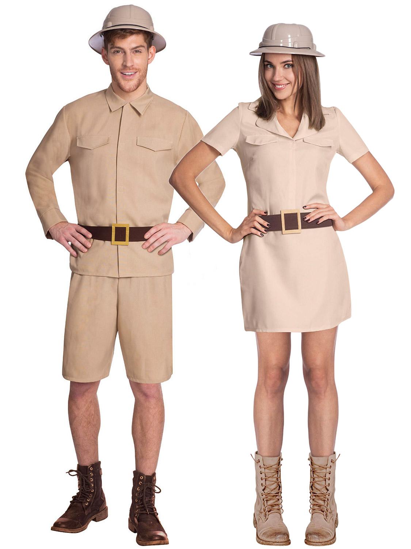 adults safari explorer costume mens ladies zoo keeper