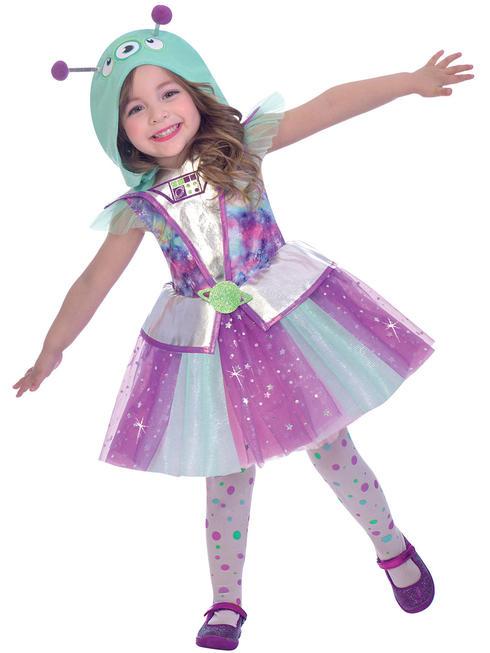 Girl's Adorable Alien Costume