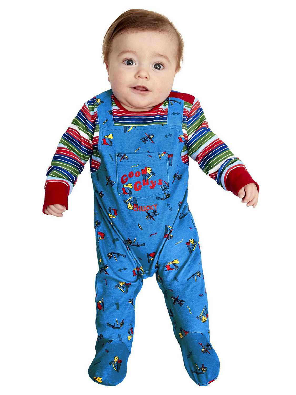 Toddlers Mouse Costume: Baby Toddler Chucky Costume Kids Killer Doll Halloween