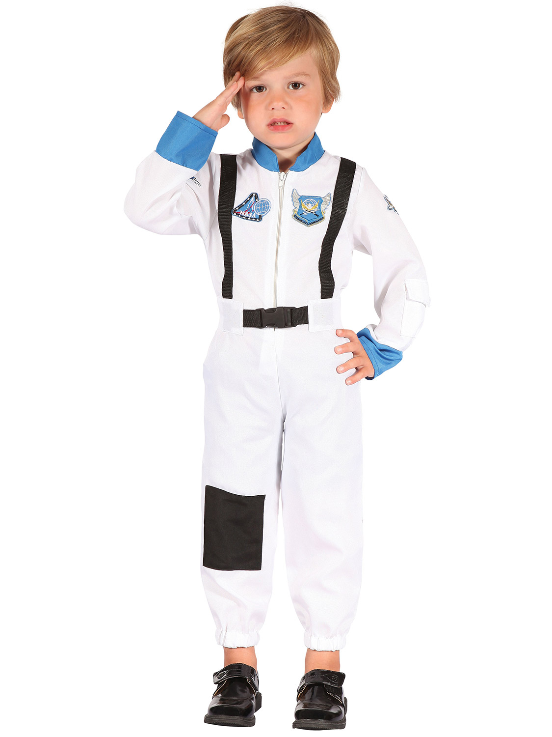 Childs Boy Girl Astronaut World Book Day Fancy Dress Space Jumpsuit Costume