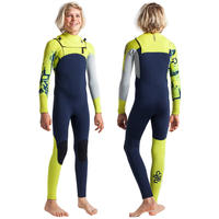 C-Skins Sessions Junior 5/4mm Full Length Wetsuit Chest Zip