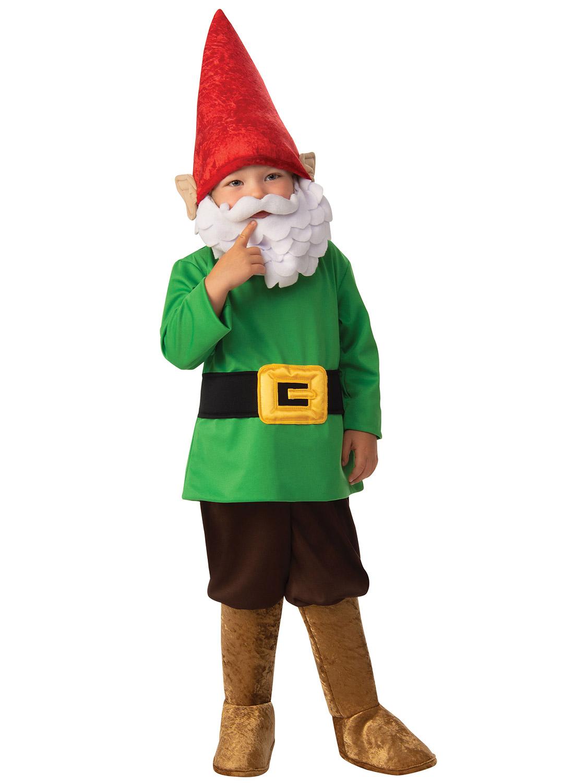 KIDS GNOME ELF DWARF BOYS GIRLS CHRISTMAS FANCY DRESS COSTUME OUTFIT