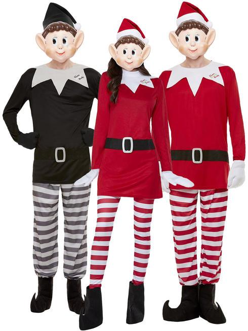 Adult's Elves Behaving Badly Costume