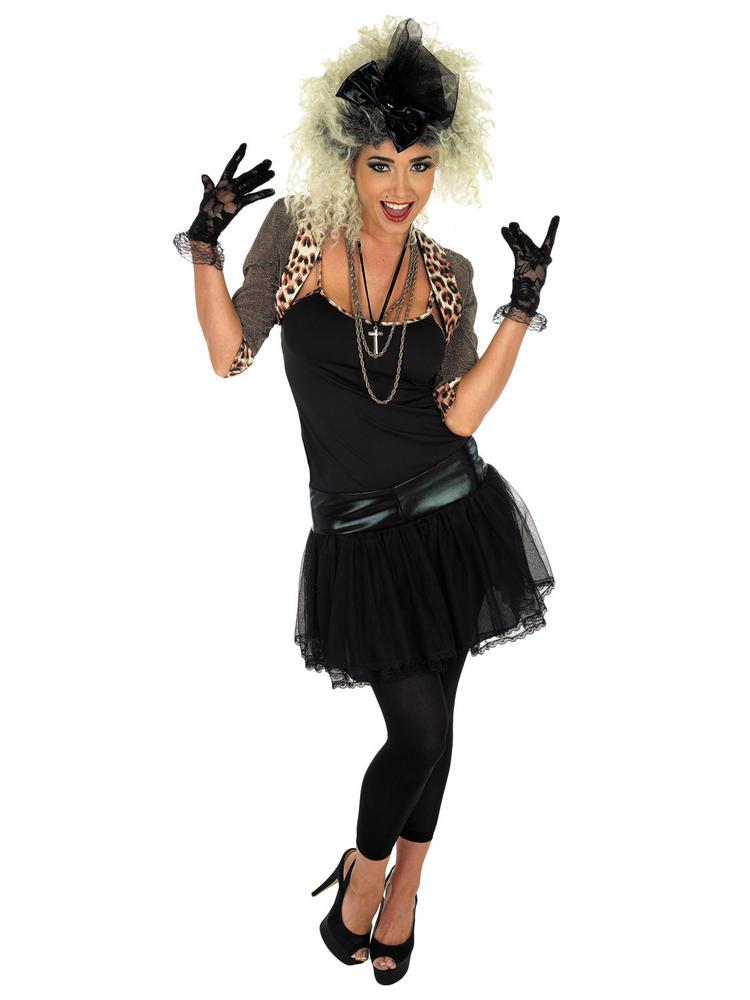 Ladies 80s Pop Star Costume