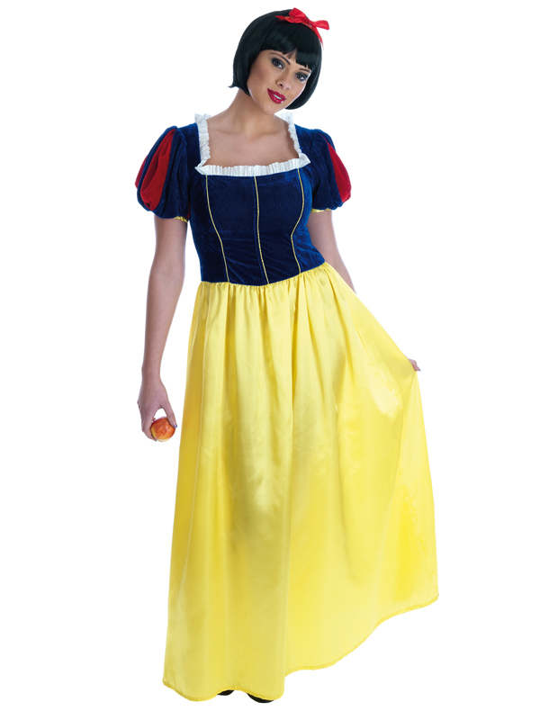 Ladies Deluxe Snow White Costume
