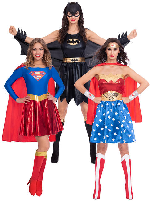 Ladies Superhero Costume