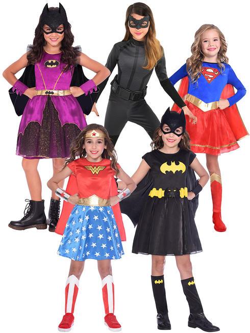 Girl's Superhero Costume