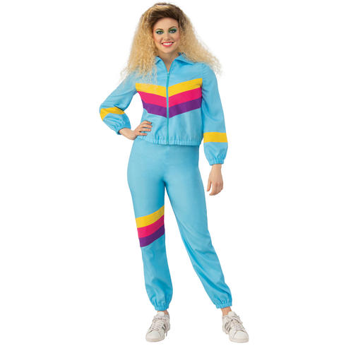 Ladies Shell Suit Costume
