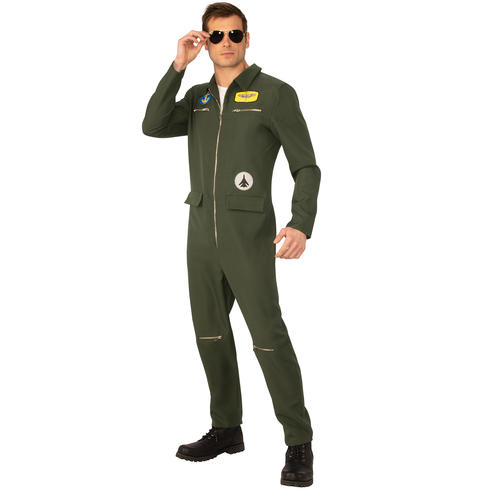 Men's Navy Hotshot Costume