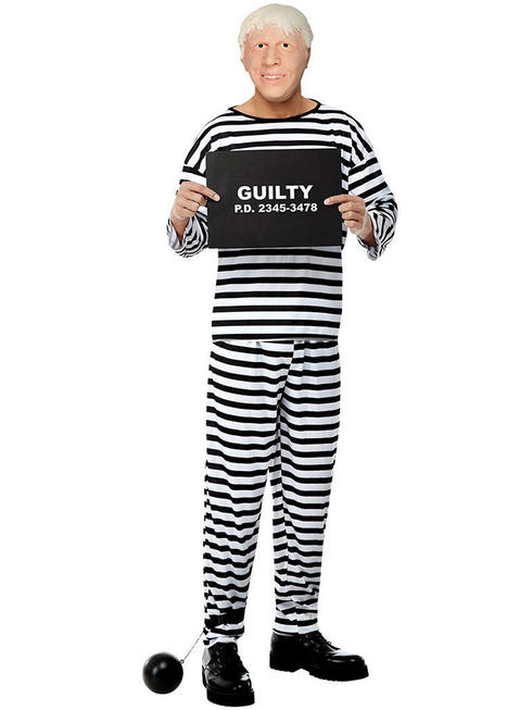Adult's Guilty Politician Costume