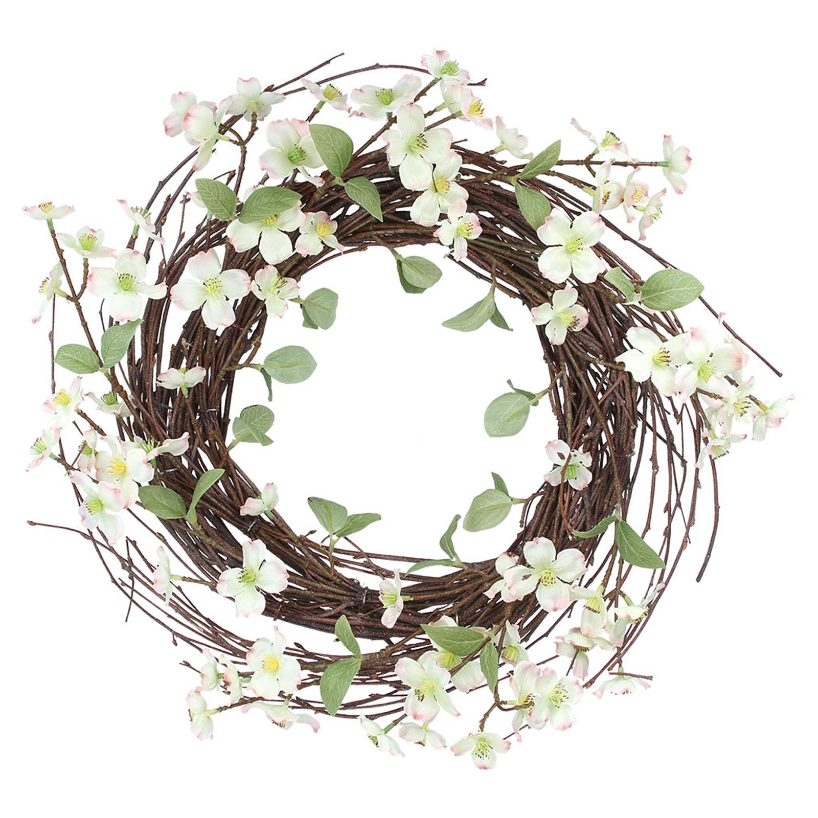 Gisela-Graham-Primavera-Corona-Decoracion-de-Mesa-de-huevos-de-Pascua-Flores-Casa-Puerta-Floral miniatura 16