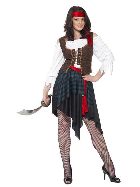 Ladies Pirate Lady Costume