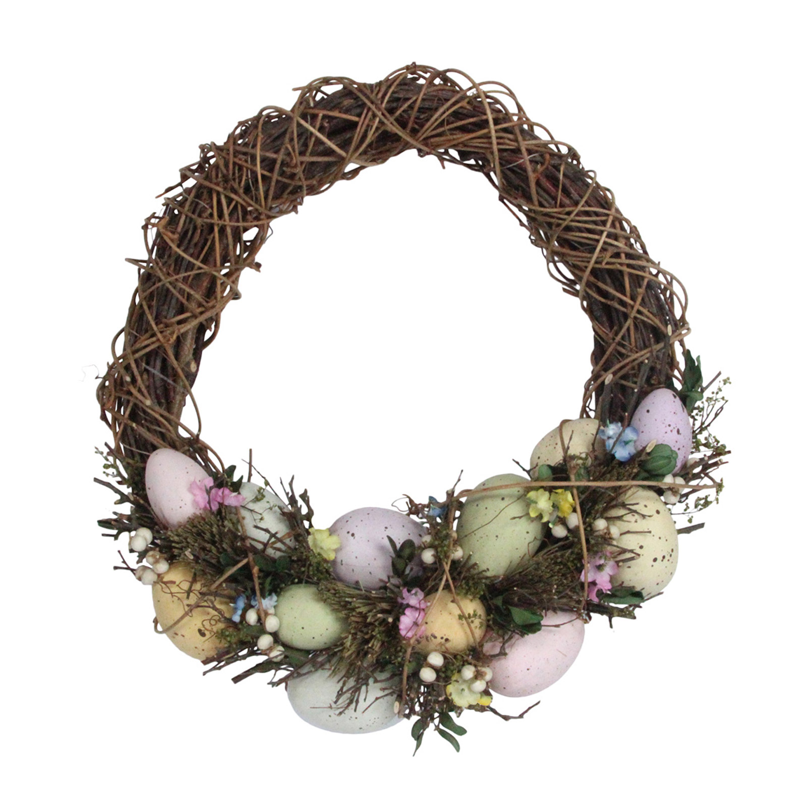 Gisela-Graham-Primavera-Corona-Decoracion-de-Mesa-de-huevos-de-Pascua-Flores-Casa-Puerta-Floral miniatura 19
