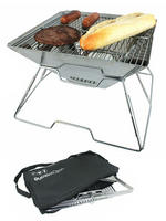 Yellowstone Pac Flat Folding Portable BBQ