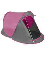 Yellowstone Pink 2 Man Instant Pop Up Tent