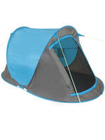 Yellowstone Blue 2 Man Instant Pop Up Tent