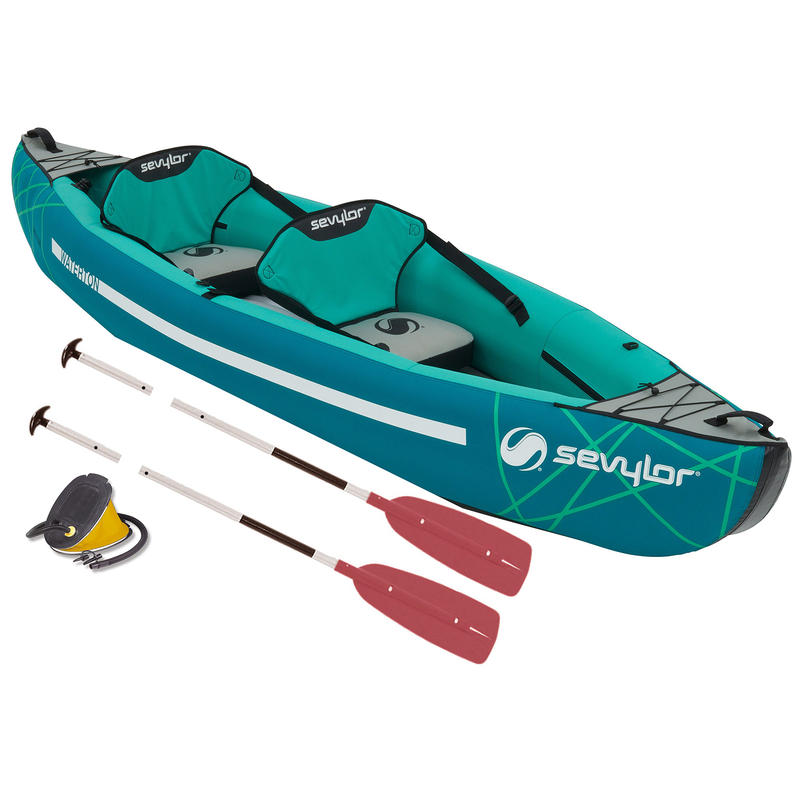 Sevylor Waterton Inflatable Kayak Kit