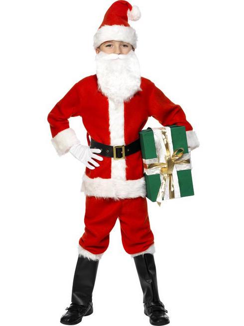 Kids Deluxe Santa Costume