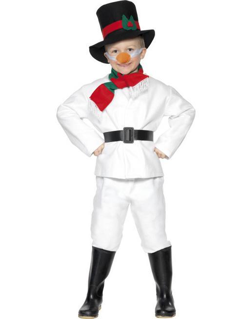 Boy's Snowman Costume