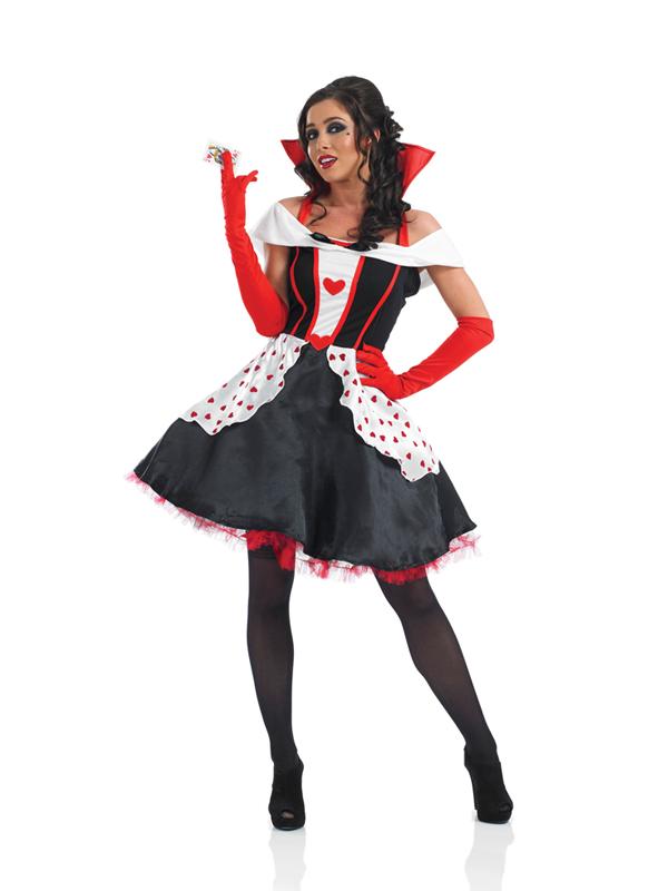 Ladies Queen of Hearts Dress