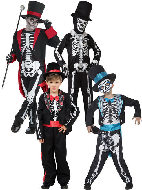 Boy's Bone Jangles Costume