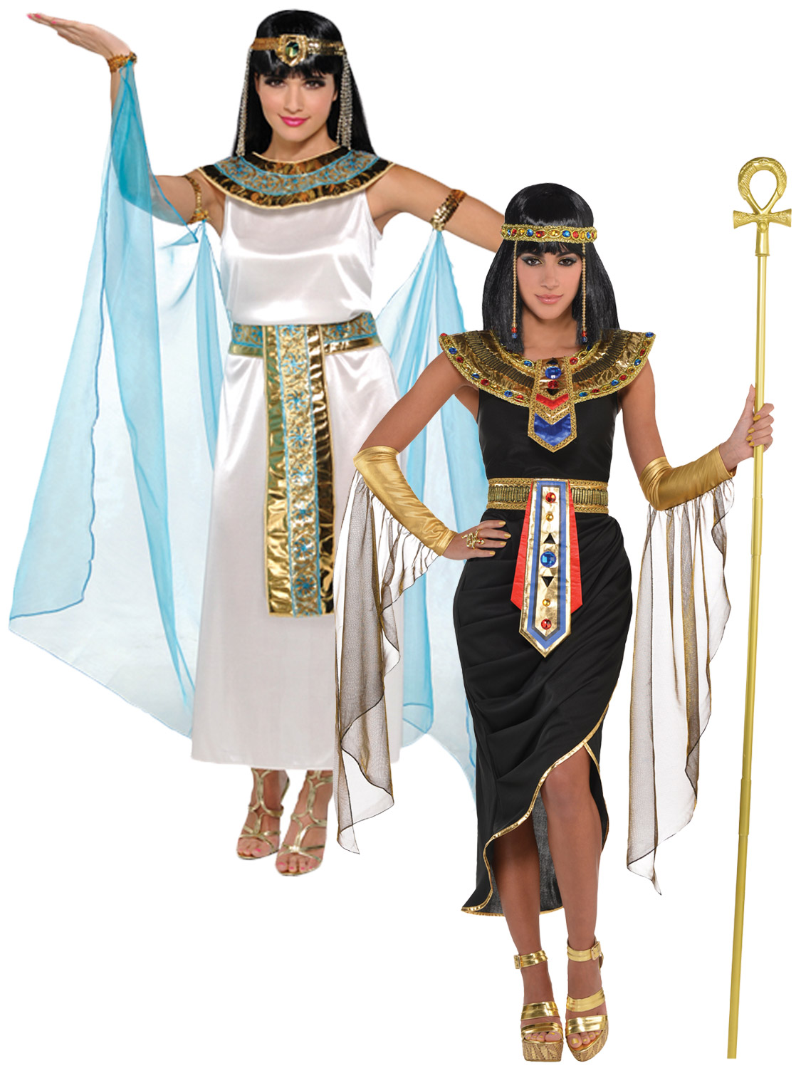 56f59b1ac Details about Adult Cleopatra Costume Egyptian Queen Greek Goddess Fancy  Dress Ladies Womens