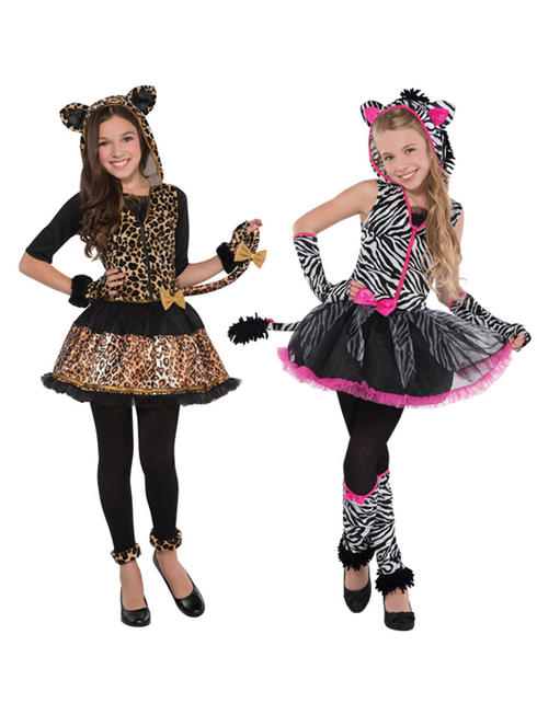 Girl's Sassy Stripes Costume