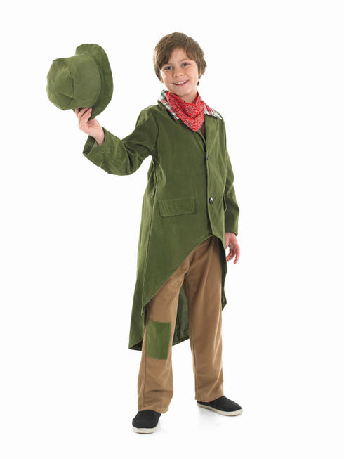 Boy's Poor Victorian Boy Costume