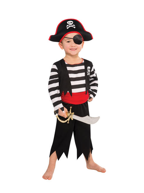 Boy's Deckhand Pirate Costume