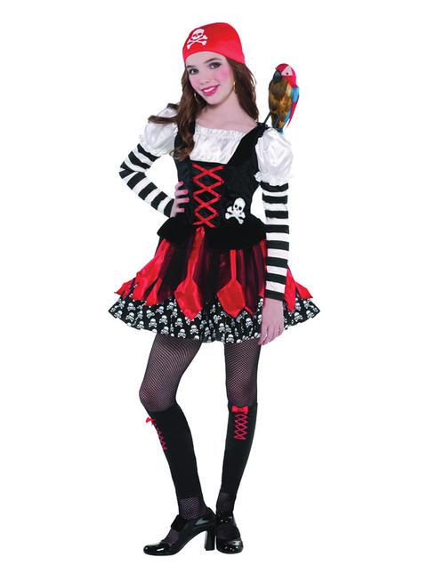 Girl's Crossbone Cutie Costume