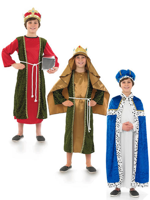 Boy's Three Wise Men Costume