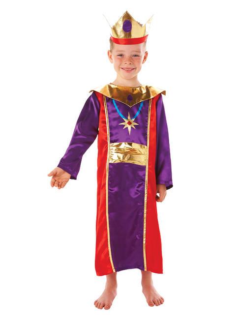 Boy's King Costume