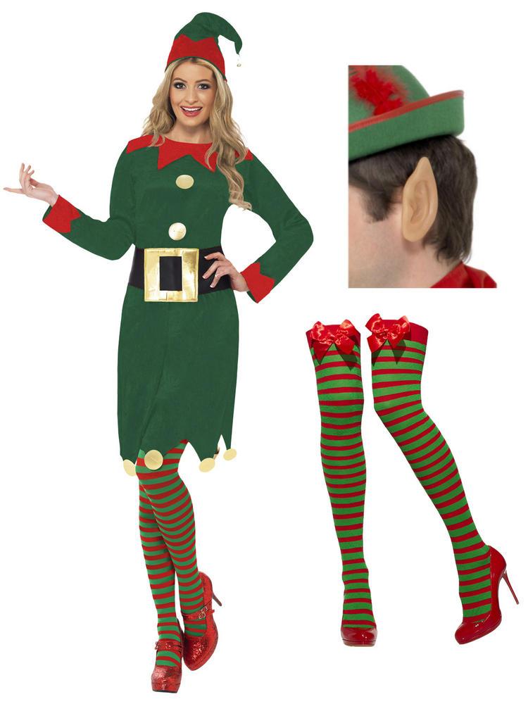 Ladies Complete Elf Costume