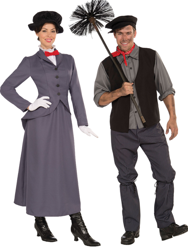 Adult Ladies Mens Victorian Mary Nanny Chimney Sweep Bert