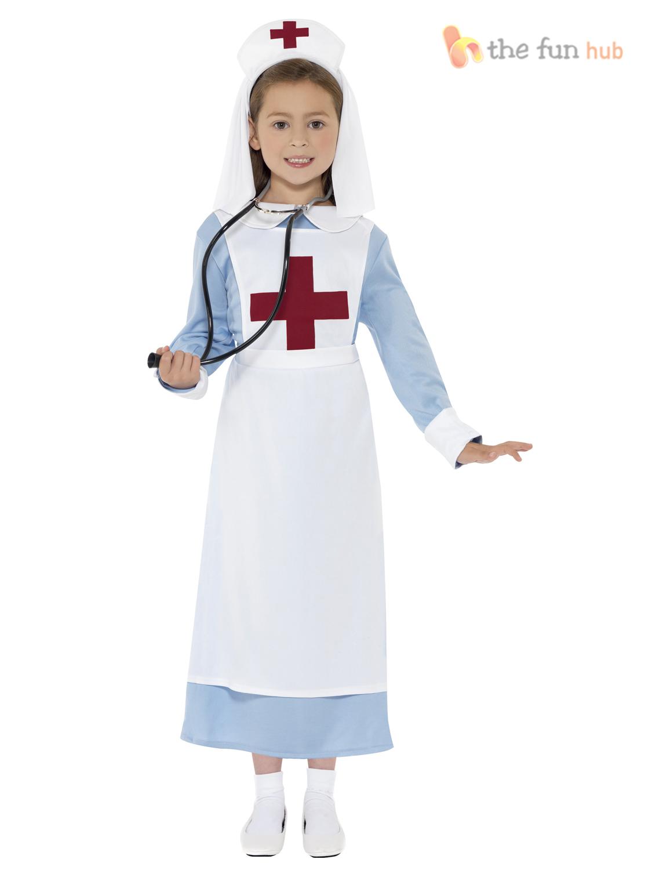 Ww1 nurse costume girls fancy dress uniform historical kids great ww1 nurse costume girls fancy dress uniform historical solutioingenieria Images