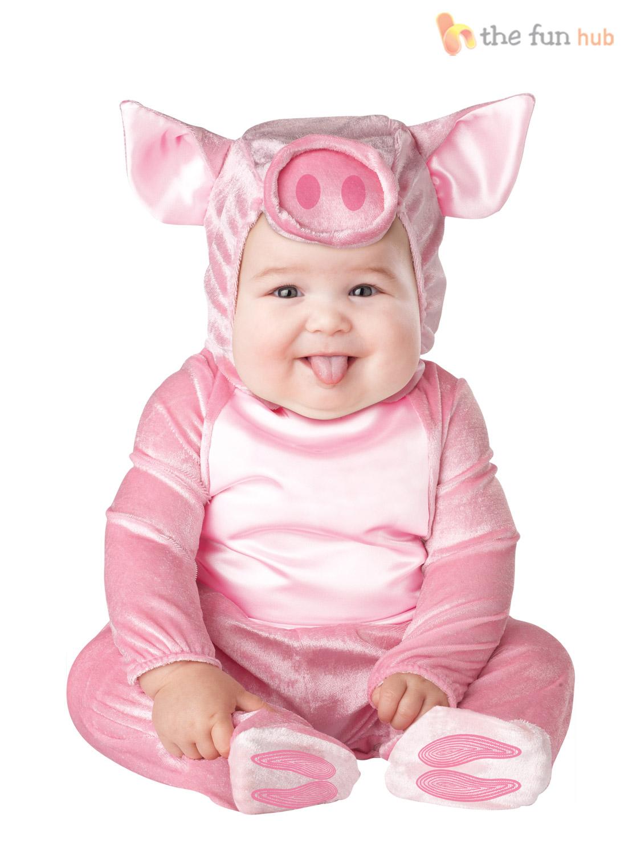 Boys Girls Baby Fancy Dress Up Animal Costume Halloween Infant 6 12