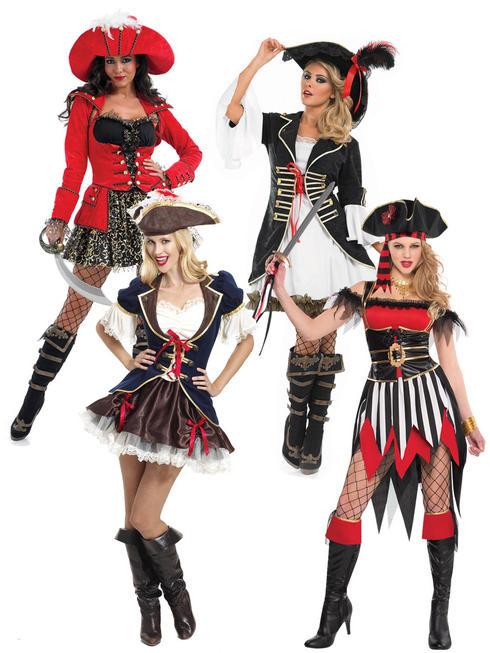 Ladies Shipwreck Pirate Costume