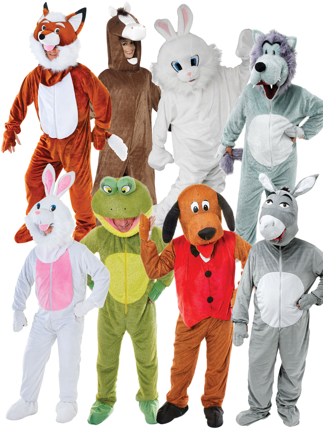 Kangaroo Costume Mens Womens Costume Adults Fancy Dress Outfit Animal M L XL