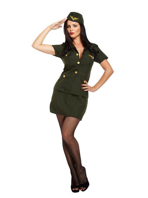 Ladies Army Lady Costume
