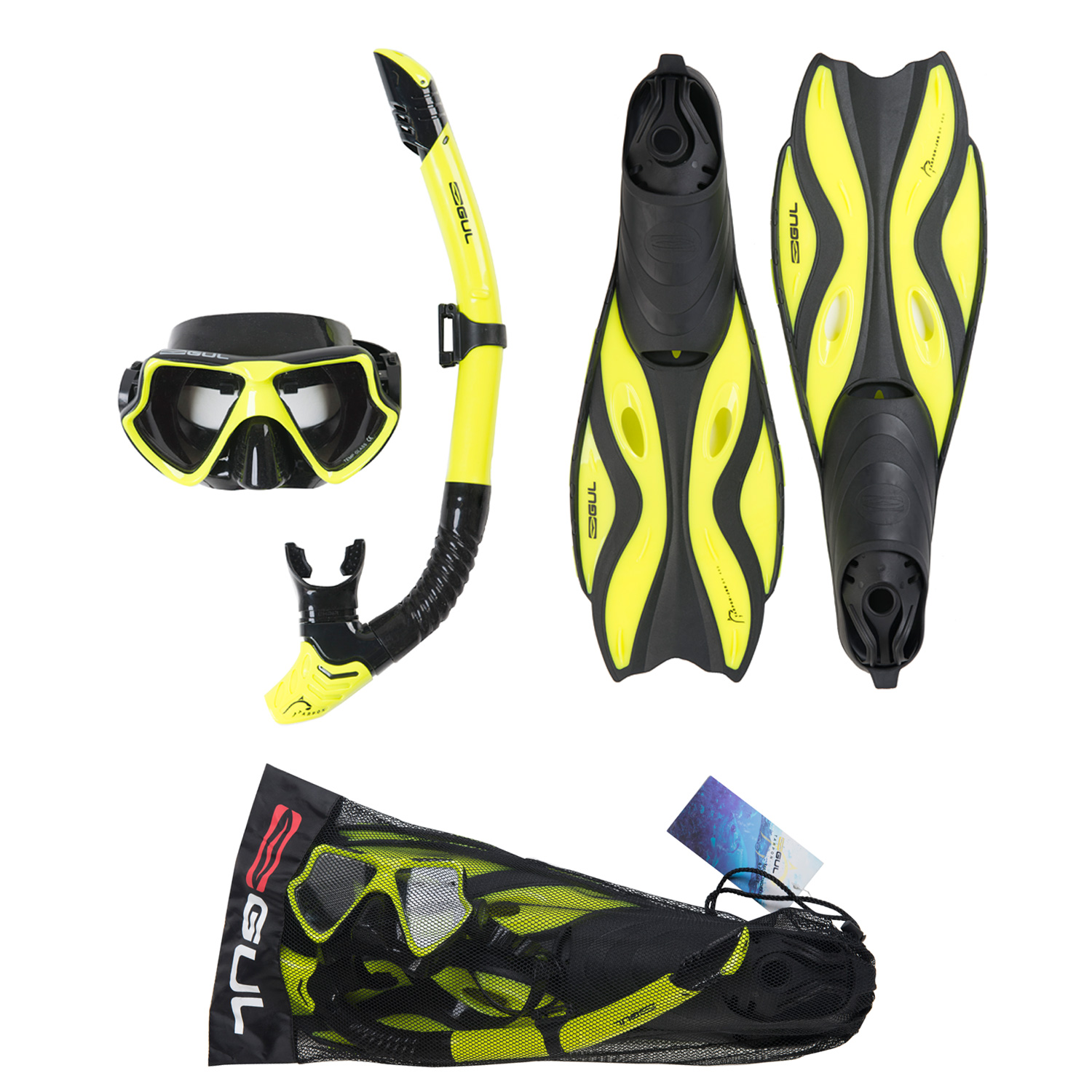 Details about Gul Tarpon Adult Mask Snorkel Fins Set Silicon Snorkelling  Swimming Diving 4e6b533f1