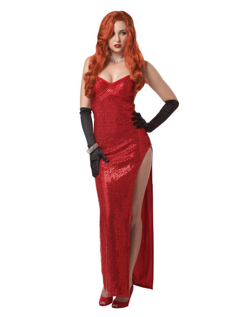 Ladies Jessica Rabbit Costume